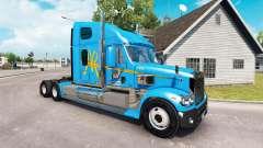 Pele A&R no caminhão Freightliner Coronado para American Truck Simulator