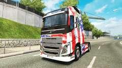 EUA pele para a Volvo caminhões para Euro Truck Simulator 2