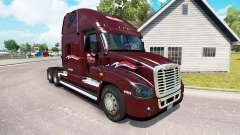 Pele Millis no trator Freightliner Cascadia para American Truck Simulator