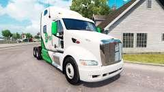 Pele DFS Danfreiht no trator Peterbilt 387 para American Truck Simulator