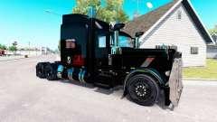 Orgulho de Transporte de pele para o caminhão Peterbilt 389 para American Truck Simulator