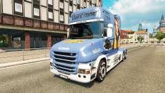 Pele Lisa Comboio para caminhão Scania T para Euro Truck Simulator 2