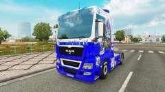 Pele FC Schalke 04 no trator HOMEM para Euro Truck Simulator 2