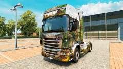 Pele Central Park para caminhão Scania para Euro Truck Simulator 2