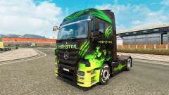 A pele do Monstro no caminhão Mercedes-Benz para Euro Truck Simulator 2