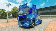 De Água da pele no trator Scania para Euro Truck Simulator 2