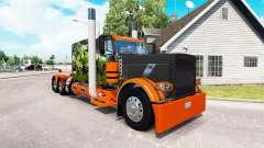 Pele de cobra v2.0 trator Peterbilt 389 para American Truck Simulator