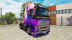 Michael Jackson pele para a Volvo caminhões para Euro Truck Simulator 2