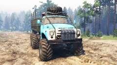 ZIL-165 [monstro do pântano] para Spin Tires