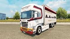 Pele A. A. van ES para trator Scania Tandem para Euro Truck Simulator 2
