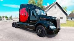Pele turco Poder no trator Peterbilt para American Truck Simulator