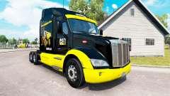 GATO de pele para o caminhão Peterbilt para American Truck Simulator