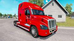 Pele Cavaleiro caminhão Freightliner Cascadia para American Truck Simulator