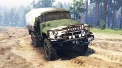 ZIL-130 6x6 para Spin Tires