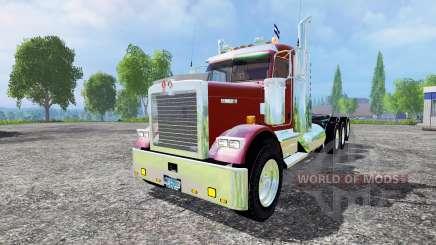 Kenworth W900B v1.1 para Farming Simulator 2015