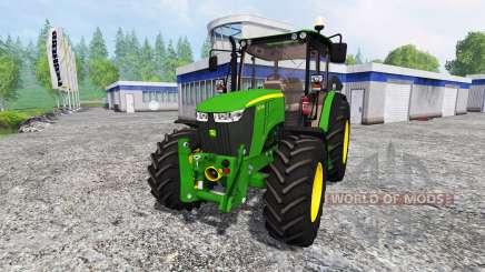 John Deere 5075M para Farming Simulator 2015