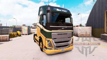 Volvo FH16 2013 v2.1 para American Truck Simulator