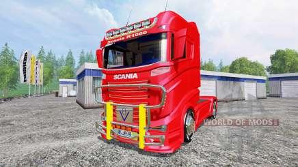 Scania R1000 para Farming Simulator 2015