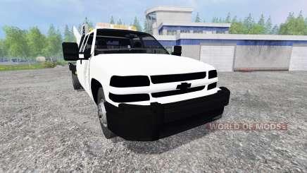 Chevrolet Silverado Flatbed para Farming Simulator 2015