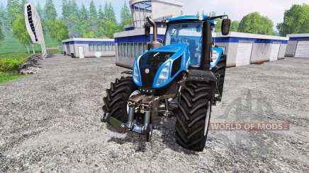 New Holland T8.320 v1.1 para Farming Simulator 2015