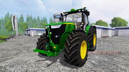 John Deere 7310R [wheel shader] v2.0 para Farming Simulator 2015