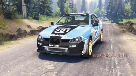 Subaru Impreza WRX 2007 para Spin Tires