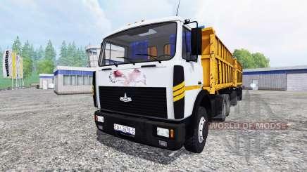 MAZ-5516 para Farming Simulator 2015