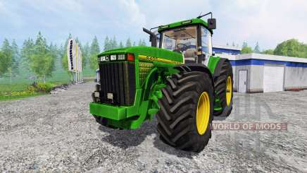 John Deere 8400 [wheelshader] para Farming Simulator 2015
