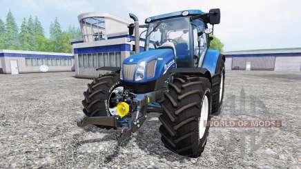 New Holland T6.160 [blue power] v1.1 para Farming Simulator 2015
