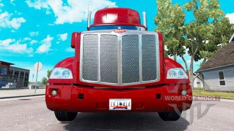 Uma coleção de placas de licença de v1.1 para American Truck Simulator