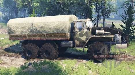 Ural-4320-10 v4.0 para Spin Tires