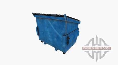 Aço lata de lixo para Farming Simulator 2017