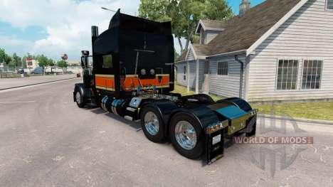 O Topo Plano de Transporte de pele para o caminh para American Truck Simulator