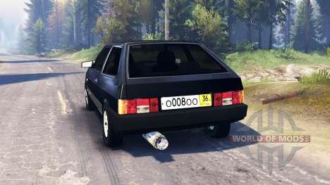 VAZ-2108 v2.0 para Spin Tires