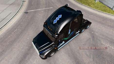 Скин João Christner на Freightliner Cascadia para American Truck Simulator