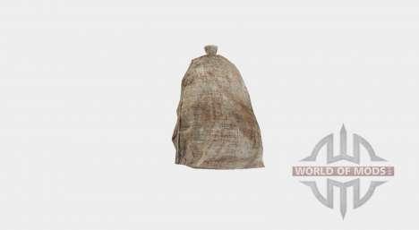 Preenchido com um saco de serapilheira para Farming Simulator 2017