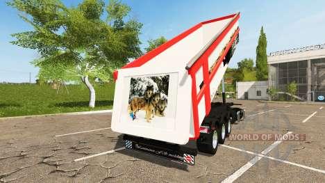 Schmitz Cargobull SKI 24 Wolf para Farming Simulator 2017