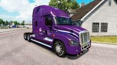Pele Pacto trator Freightliner Cascadia para American Truck Simulator