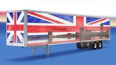 Pele de Londres v1.2 no trailer para American Truck Simulator