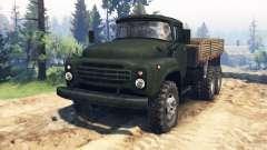 ZIL-130 6x6 v2.0 para Spin Tires