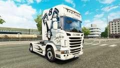 A pele Simplesmente o Melhor no tractor Scania para Euro Truck Simulator 2