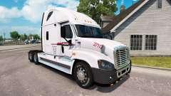 Скин P. A. M. de Transporte на Freightliner Cascadia para American Truck Simulator