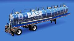Pele BASF química tanque para American Truck Simulator