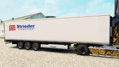 Pele Strieder no semi-reboque-geladeira para Euro Truck Simulator 2