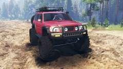 Nissan Patrol para Spin Tires