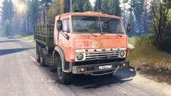 KamAZ-53212 v2.0 para Spin Tires