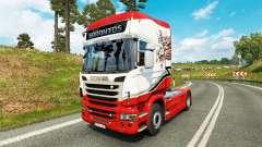 Sarantos de transporte de pele para o Scania truck para Euro Truck Simulator 2