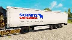 Pele para Schmitz semi-reboques para Euro Truck Simulator 2