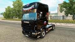 Pele Rússia Preto no tractor Scania para Euro Truck Simulator 2