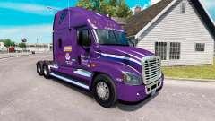 Скин Convênio de Transporte на Freightliner Cascadia para American Truck Simulator